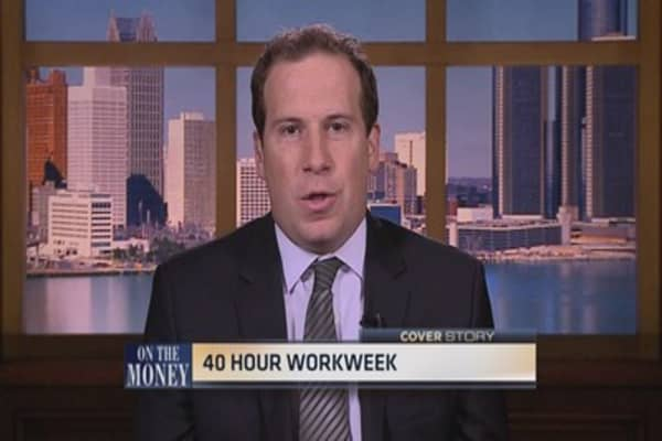 The 40-hour work week returns