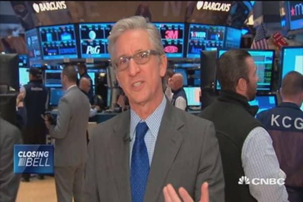 Stocks higher for third straight week