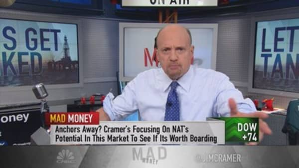 Cramer says let's get tanked!