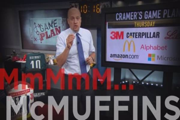 Cramer: Believe in MCD's CEO