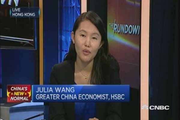 China Q3 GDP forecast at 6.9%: HSBC