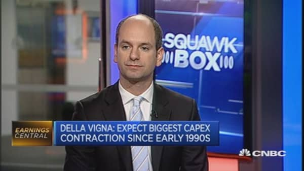 Capex to contract in the next three years