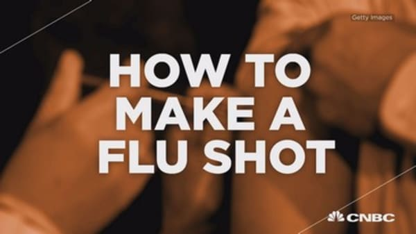 How to make a flu shot