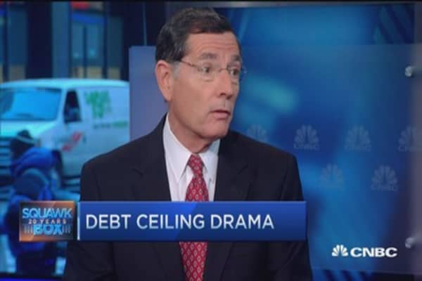Sen. Barrasso: Time to export oil
