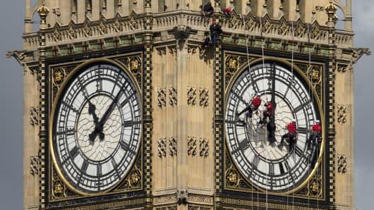 Big Ben's Clock-face