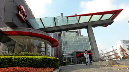 The Taiwan Semiconductor Manufacturing Co. headquarters in Hsinchu, Taiwan.