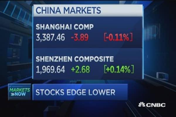 Pisani's market open: Stocks edge lower