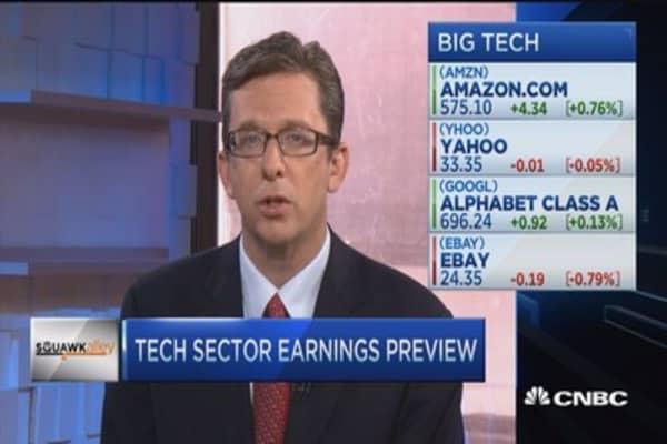 Tech sector earnings picks