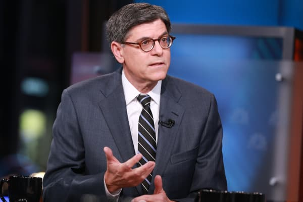 Jack Lew, Treasury Secretary.