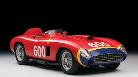 RM Sotheby's to offer ex-works 1956 Ferrari 290 MM by Scaglietti for its 'Driven by Disruption' sale, December 10th, 2015 in New York City.