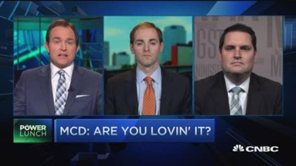 MCD: Still lovin' it?