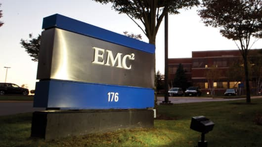 EMC Corp. world headquarters in Hopkinton, Massachusetts.