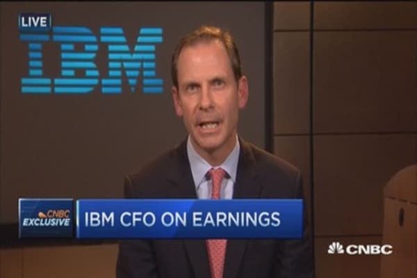 Currency headwinds, global services price pressure: IBM CFO