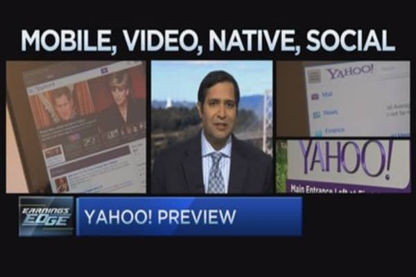 Yahoo bull: Brace for more volatility after earnings