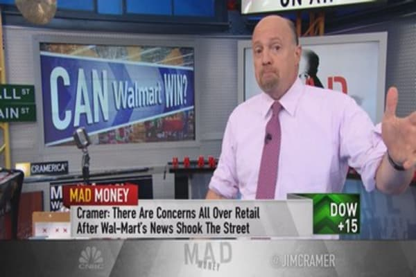Cramer: Guess what? Wal-Mart's CEO is right