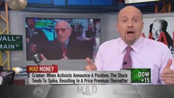Cramer: Cashing in on Peltz's power in Mondelez