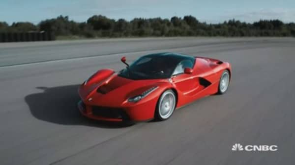 Ferrari shares hard to get hands on ahead of IPO