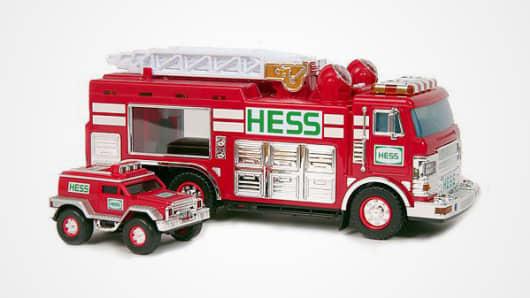 2015 Hess toy firetruck.