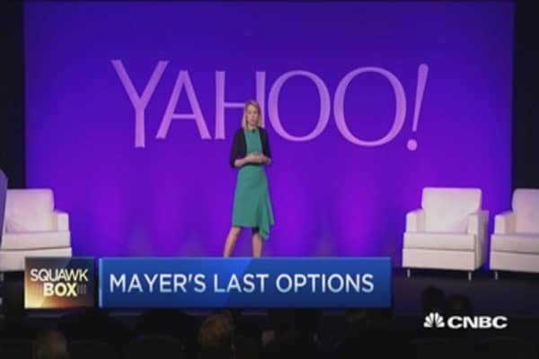 Yahoo's end game?