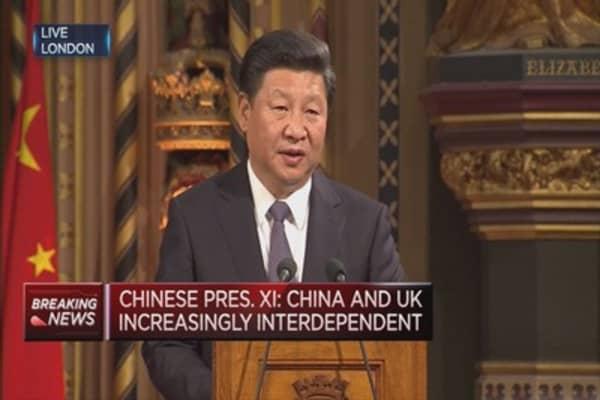 China and UK interdependent: Xi