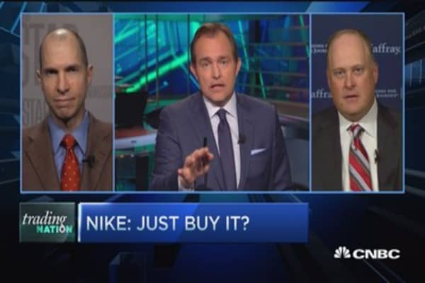 Trading Nation: Nike, just buy it?