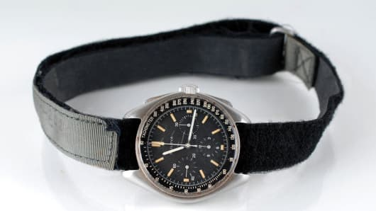 The Bulova Chronograph worn by David Scott on the Moon up for auction.