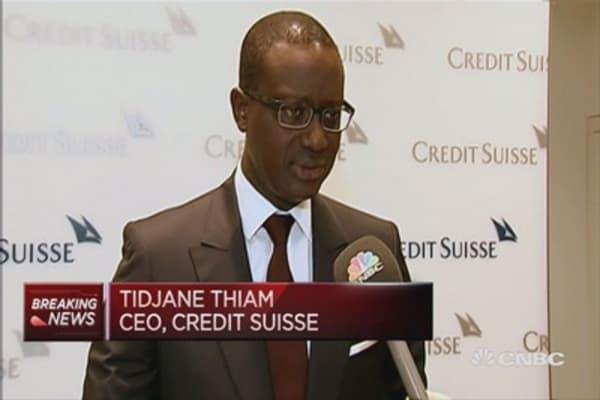 Credit suisse to raise 6 billion Swiss francs ($6.2 billion)