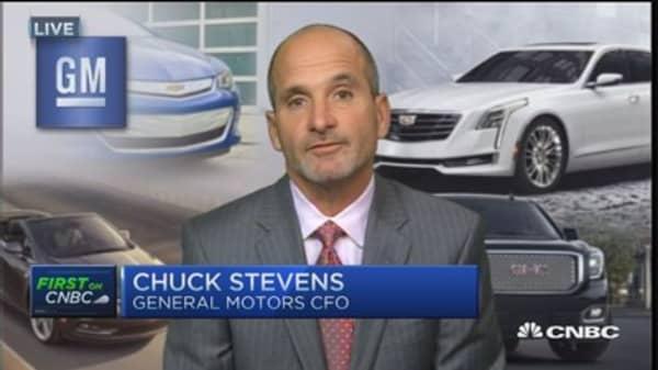 GM CFO:  Cost efficiencies driving profit margins
