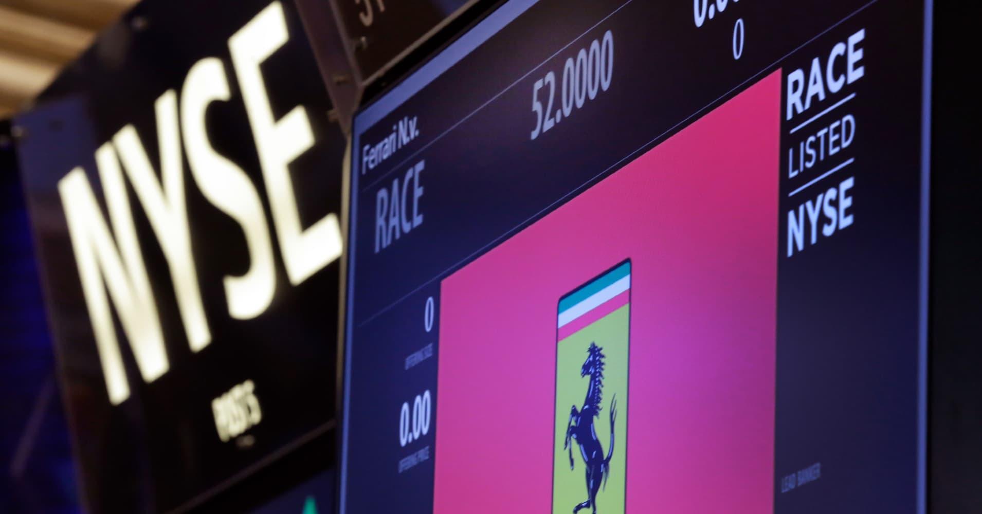 Ferrari ipo prices at 52share within range biocorpaavc Choice Image