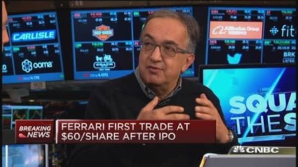 Ferrari Chairman talks 'heart of the brand'