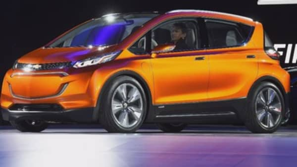 GM and LG join forces to produce electric cars