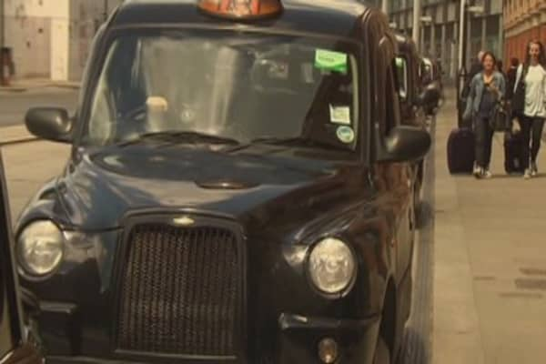 London's black cabs are going green