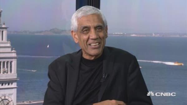 Vinod Khosla on the future of Money