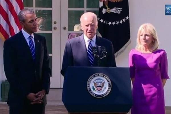 Biden: Window has closed on presidential run