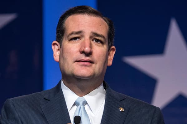 Senator Ted Cruz (R-TX).