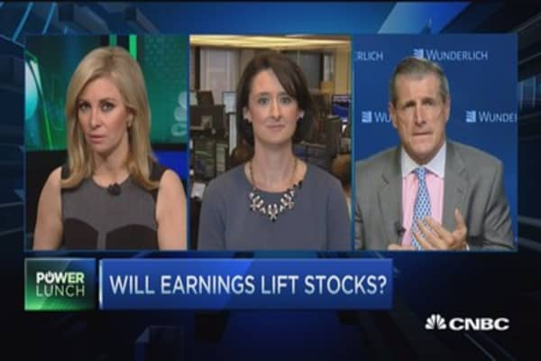 Will earnings lift stocks?
