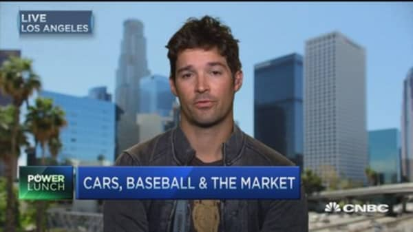 Cars & baseball: CJ Wilson
