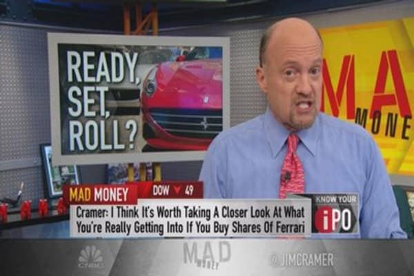 Cramer: Ferrari could run over your portfolio