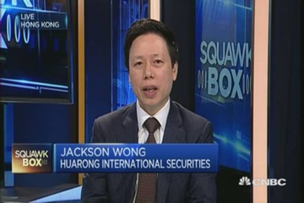 China market has found its footing: Huarong
