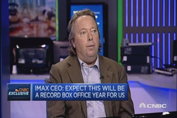 Expect a record year in box office: IMAX CEO