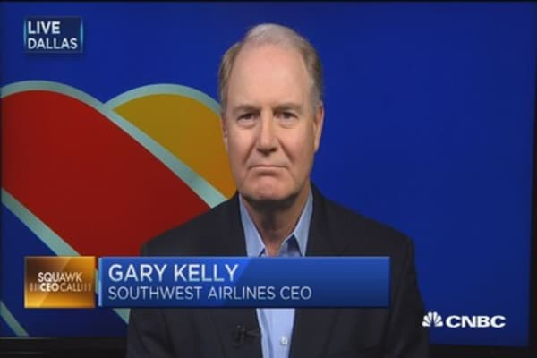 LUV CEO: Lower oil fuels profits