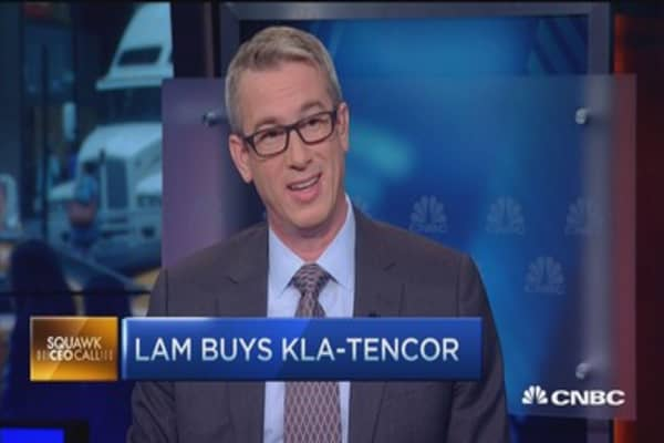 Lam Research CEO on buying KLA-Tencor