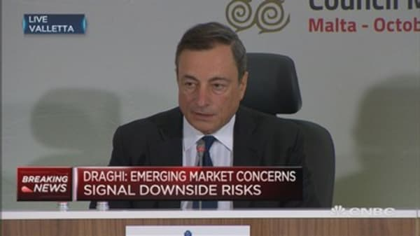 QE could run beyond Sept 2016: Draghi