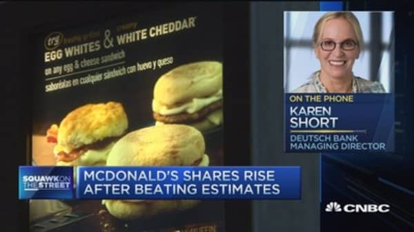 What's really driving McDonald's higher?