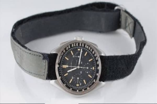 A watch that was on the moon up for auction