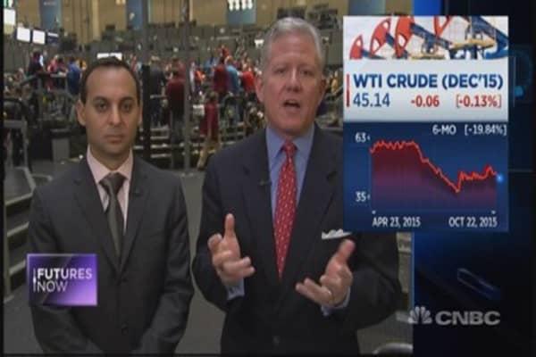 Crude headed lower: Traders