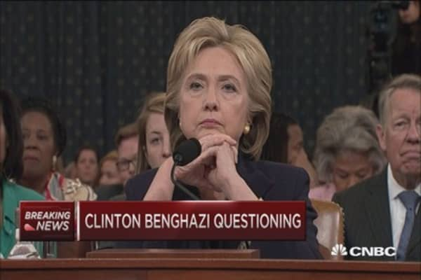 Benghazi shouting match