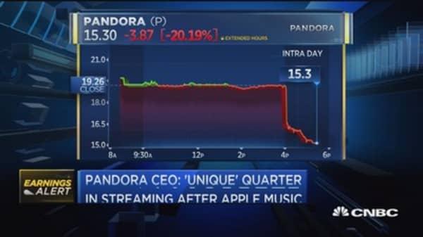 Pandora CEO addresses user decline