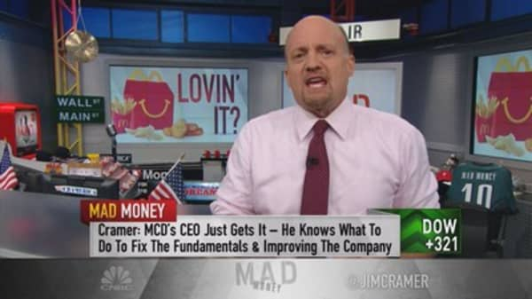 Cramer: McDonald's is only just getting started