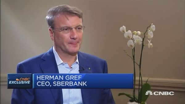 This has been a tough year for Russia: Sberbank CEO